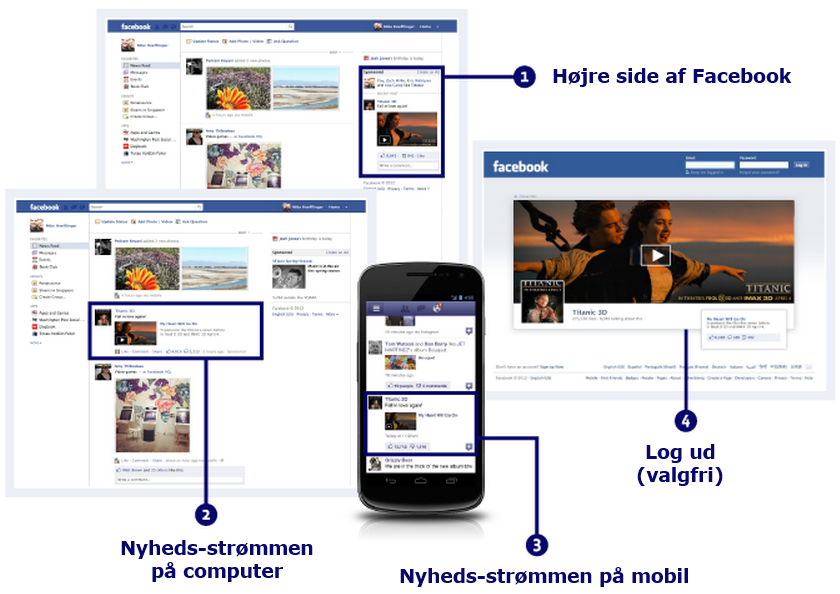 how to close facebook ads in videos
