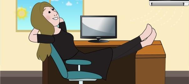 Julie i praktik hos Animation Mu